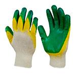 Латексные перчатки для работы с арматурой